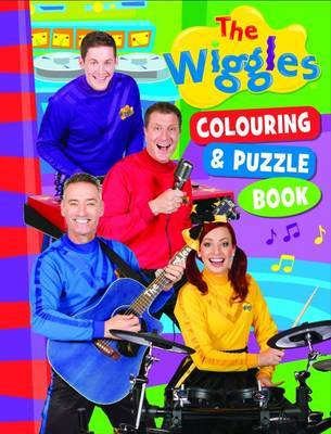 The Wiggles: Colouring & Puzzle Book by The Wiggles image