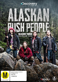 Alaskan Bush People - Season 3 (Collection 3) on DVD