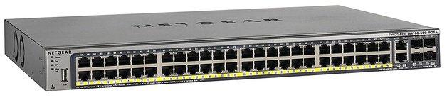 NETGEAR M4100-50G-POE+ (48-Port Gigabit POE+ L2+ switch with 4x SFP slots)