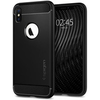 Spigen: Rugged Armor Case for iPhone XS - Black