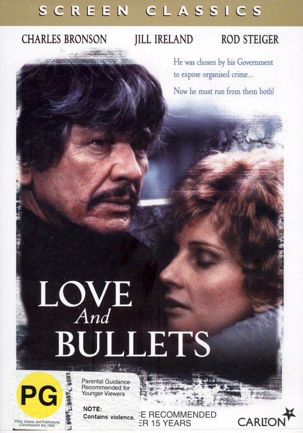 Love and Bullets on DVD image