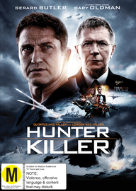 Hunter Killer on DVD