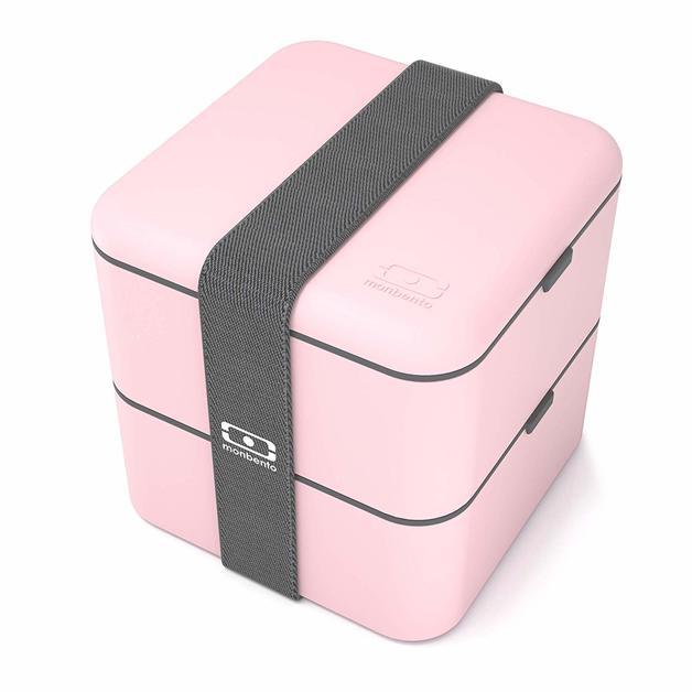 Monbento Square Bento Box - Litchi