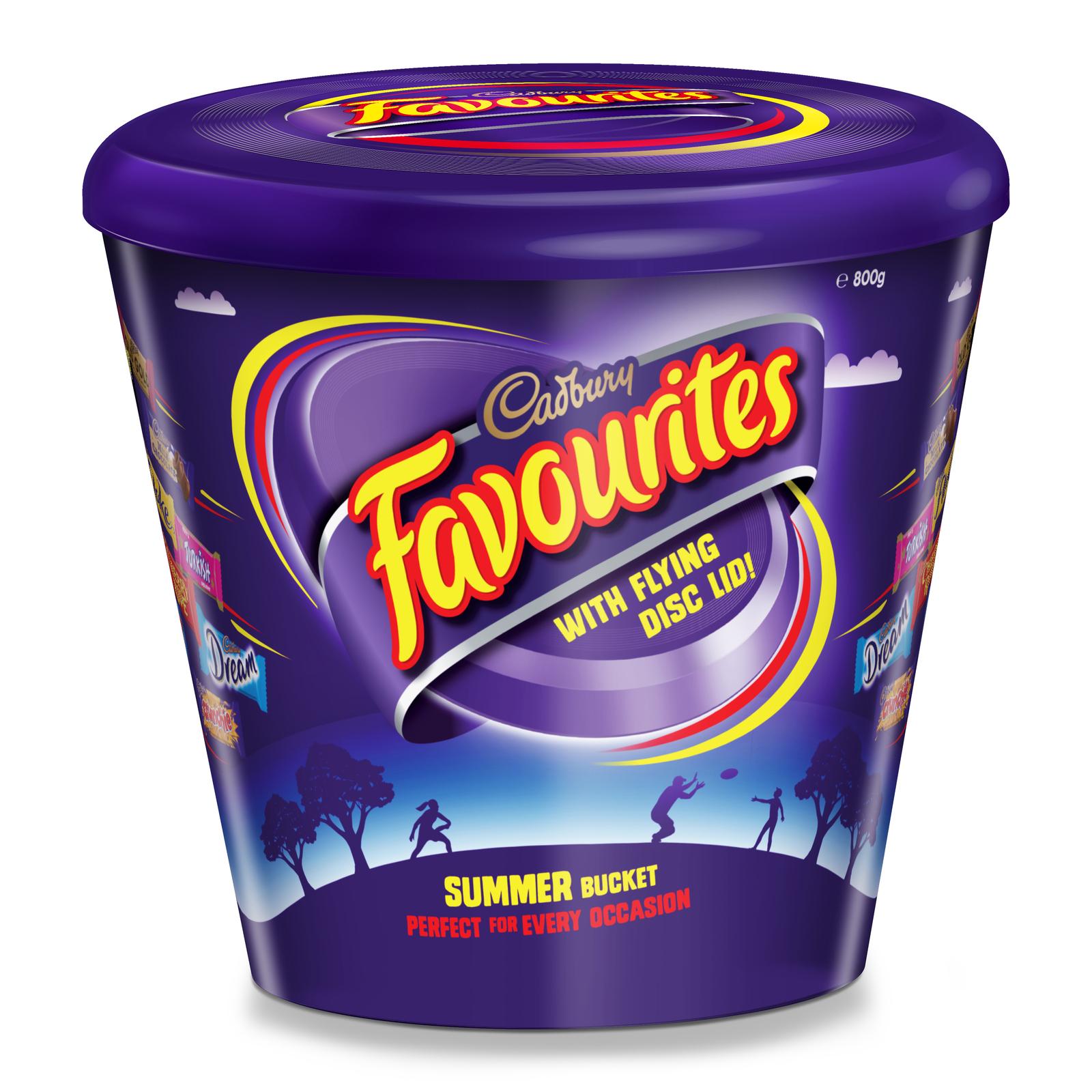 Cadbury Flying Disc Favourites Tub (700g) image