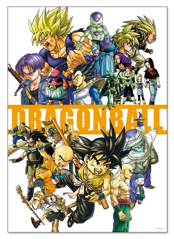 Dragon Ball: Art Poster