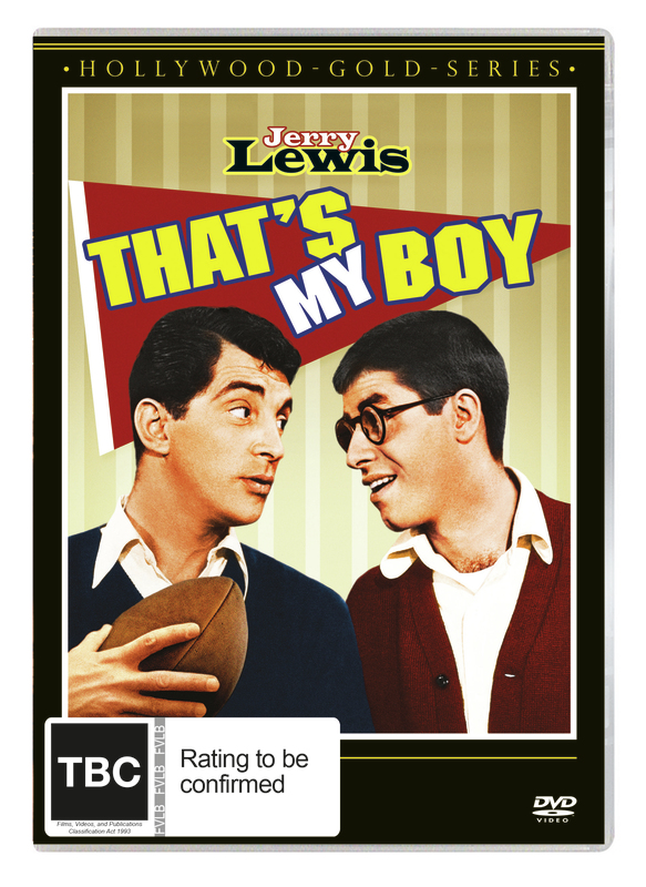 That's My Boy on DVD