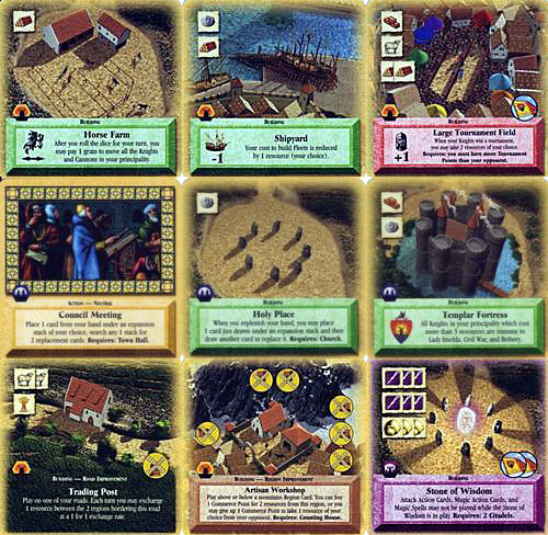 Settlers of Catan Card Game expansion : Barbarians & Traders Upgrade image