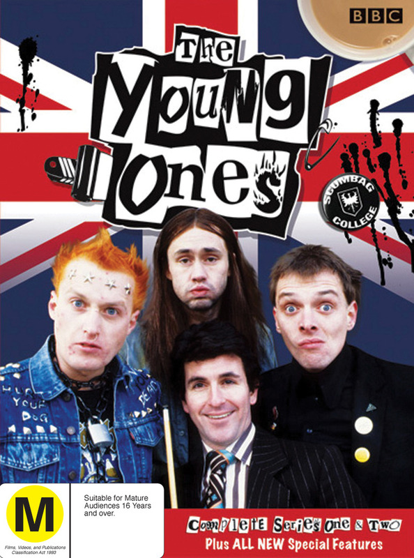 The Young Ones - Complete Series 1 & 2 Box Set on DVD