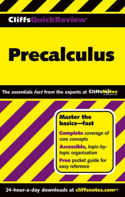 CliffsQuickReview Precalculus | W Michael Kelley Book | In