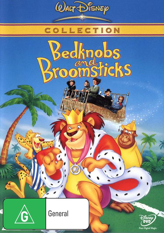 Bedknobs & Broomsticks (1971) on DVD