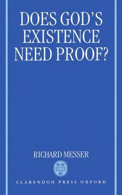 Does God's Existence Need Proof? by Richard Messer image
