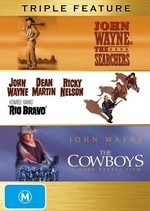 Searchers / Rio Bravo / Cowboys - Triple Feature (3 Disc Set) on DVD