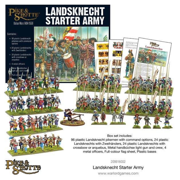 Pike & Shotte Landsknecht Starter Army
