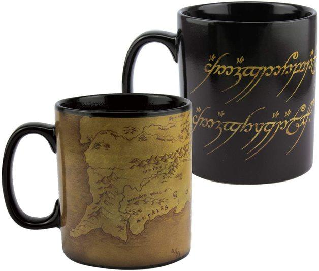 Lord of The Rings Heat Change XL Mug