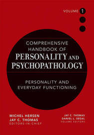 Comprehensive Handbook of Personality and Psychopathology image