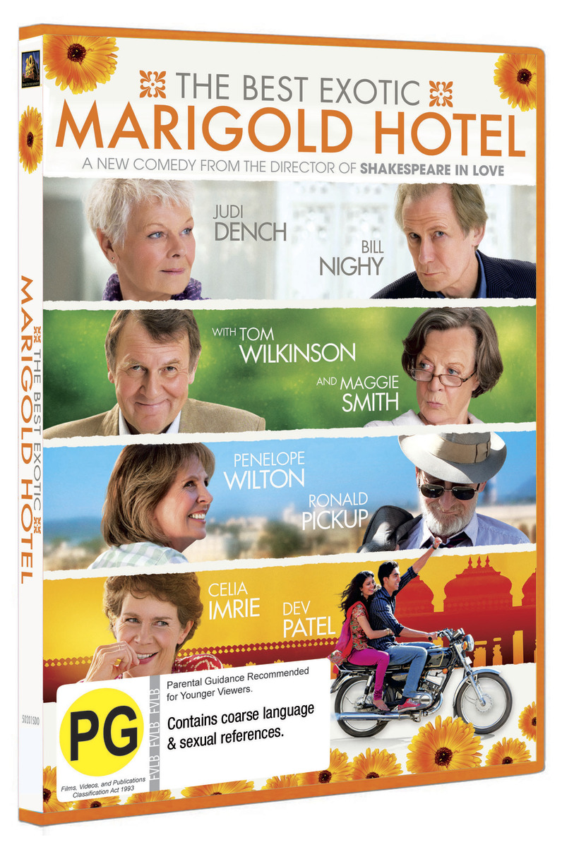 The Best Exotic Marigold Hotel on DVD image