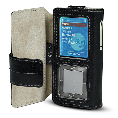 Belkin Folio Leather Case for Samsung Z5 -  Black/Gray