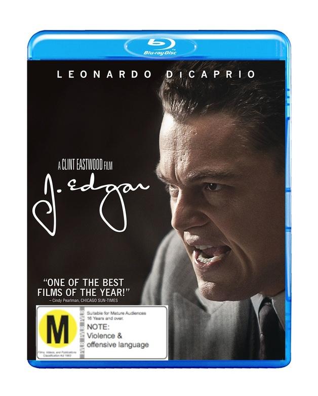 J. Edgar on Blu-ray