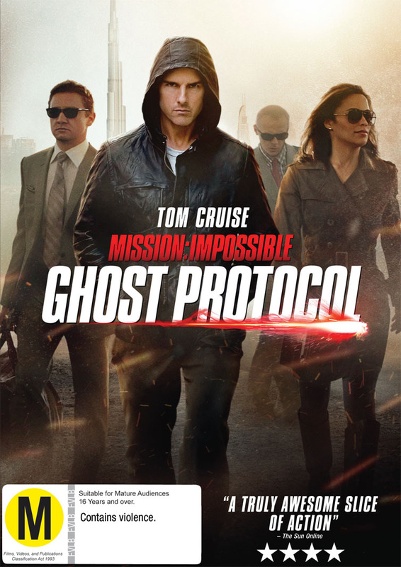 Mission Impossible 4 - Ghost Protocol on DVD