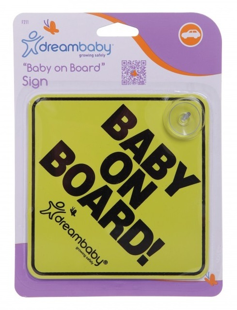 Dream Baby Baby on Board Sign image