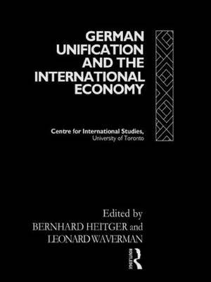 German Unification and the International Economy image