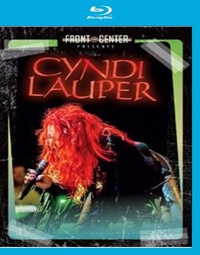 Cyndi Lauper - Front & Centre on Blu-ray
