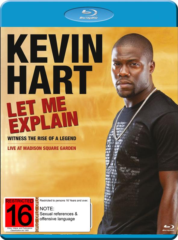 Kevin Hart Let Me Explain on Blu-ray