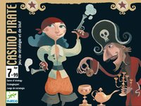 Djeco: Casino Pirate - Card Game