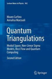 Quantum Triangulations by Mauro Carfora image