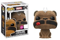 Inhumans - Lockjaw (Flocked Ver.) Pop! Vinyl Figure (LIMIT - ONE PER CUSTOMER) image