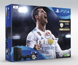 PS4 Slim 1TB FIFA 18 + 2 controllers bundle for PS4