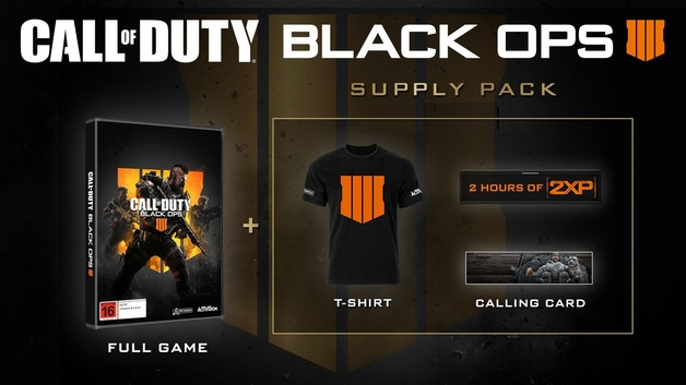 Call of Duty: Black Ops IIII Supply Pack Edition for Xbox One
