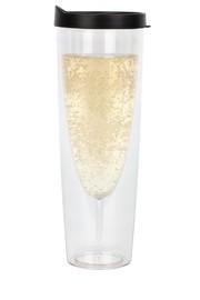 Porta-Sparkle Clear Champagne Tumbler