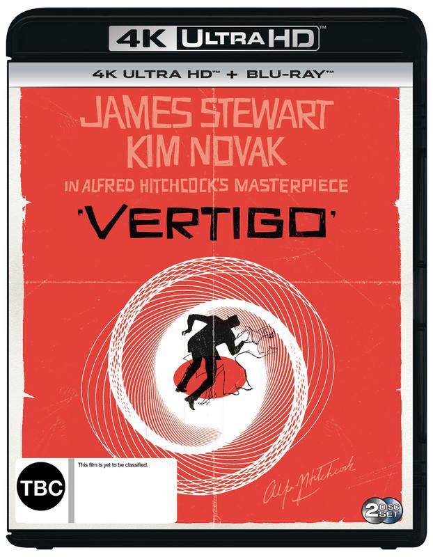 Vertigo (4K UHD) on UHD Blu-ray