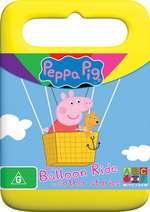 Peppa Pig - The Balloon Ride And Other Stories on DVD
