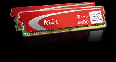 Adata ADATA EXTREME EDITION 2GB (1GB*2 DUALPACK) DDR2 1200+ DIMM 3YR image