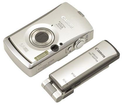 Canon Ixus Wireless 5Mp 3x Op Zoom+ Ip4200 Printer