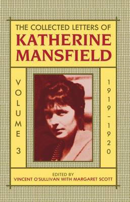 The Collected Letters of Katherine Mansfield: Volume III: 1919-1920 by Katherine Mansfield image
