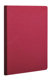 Age-Bag Soft Cover Lined A5 notebook - Red