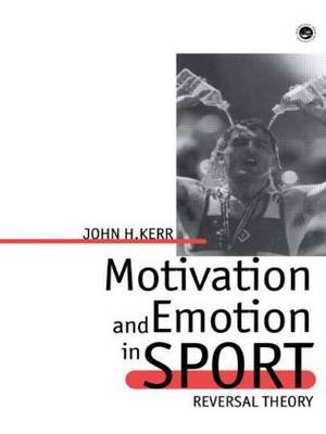 Motivation And Emotion In Spor by John H Kerr image
