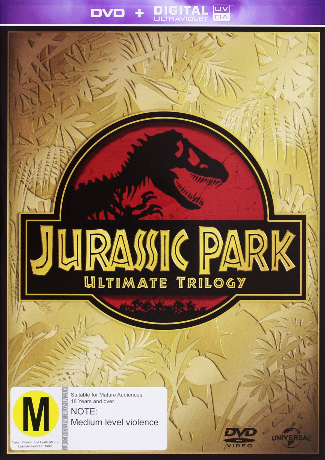 Jurassic Park Trilogy (3 DVD Collection) on DVD image