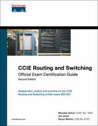 CCIE Routing and Switching Exam Certification Guide by James T. Geier image