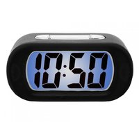 Karlsson Gummy Alarm Clock - Black