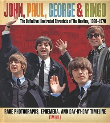 John, Paul, George & Ringo by Tim Hill