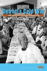 Detroit's Cold War by Colleen Doody image