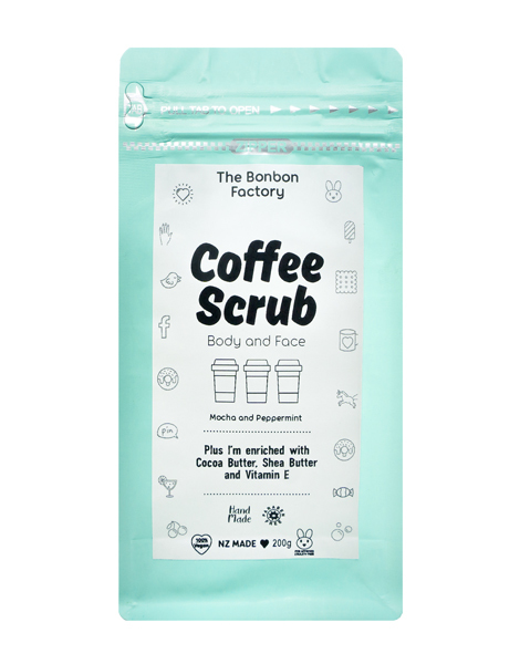 The Bonbon Factory - Body & Face Coffee Scrub (200g)