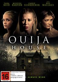 Ouija House on DVD image