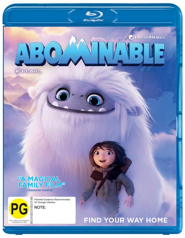 Abominable on Blu-ray