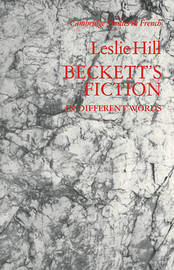 Beckett's Fiction by Leslie Hill image