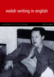 Welsh Writing in English: v.8 image